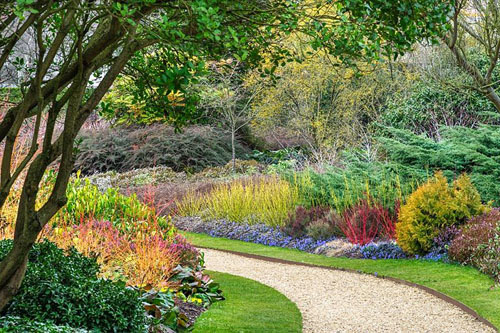 The Winter Garden. Cambridge Botanic Gardens - © Howard Rice/GAP Photos