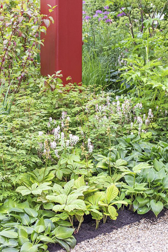 RHS Garden Bridgewater Display supported By British Tourist Association - Design: Tom Stuart-Smith at Chelsea Flower Show 2019 - © GAP Photos