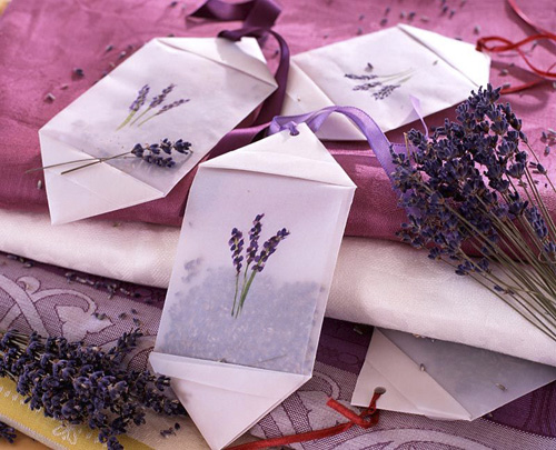 Lavender sachets - GAP Photos/Friedrich Strauss
