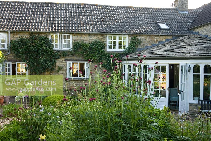 Gap Gardens Small Contemporary Cottage Garden In Early
