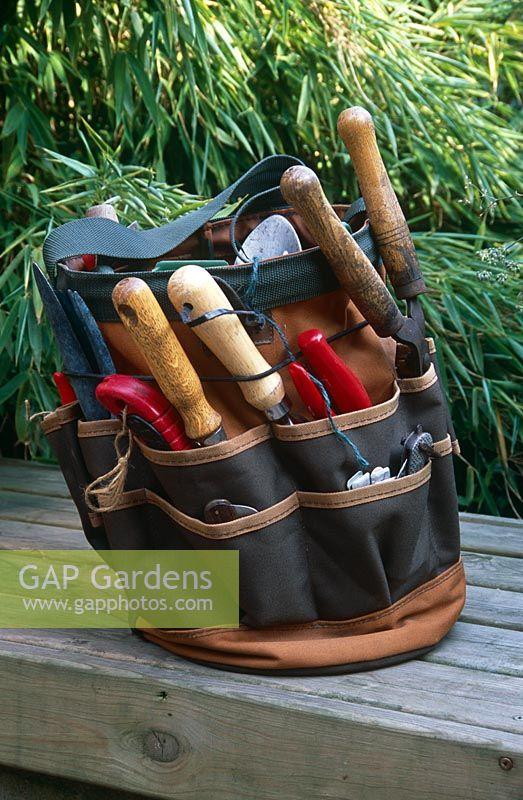 Canvas Garden Tool B Stock Photo By, Canvas Garden Tool Bag