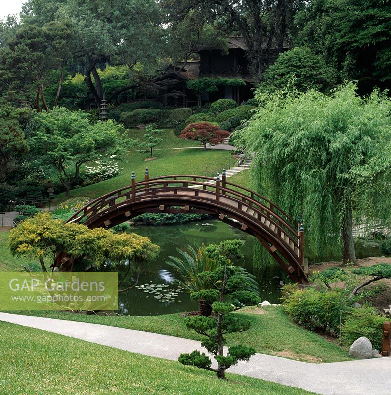 GAP Gardens - The Japanese garden at the Huntington Botanical ...