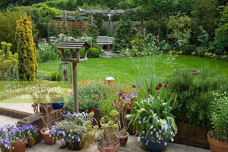 Small Well Designed Town Garden