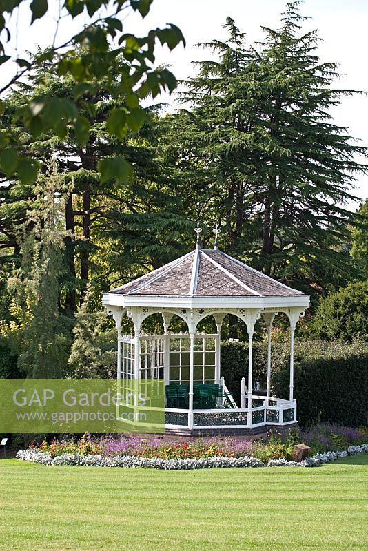 View Of The Bandstand   Birmingham Botanical Gardens