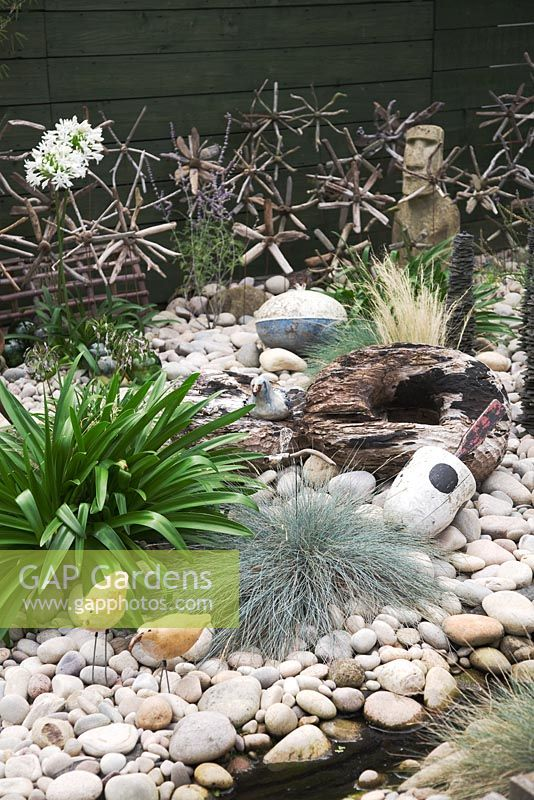 Gap Gardens Seaside Inspired Garden Pebble Beach Garden