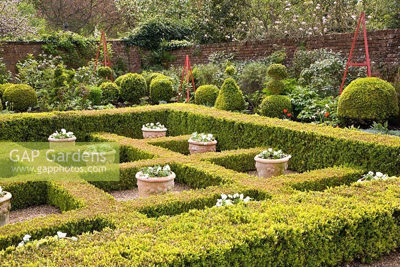 GAP Gardens Alice in Wonderland themed garden with clipped