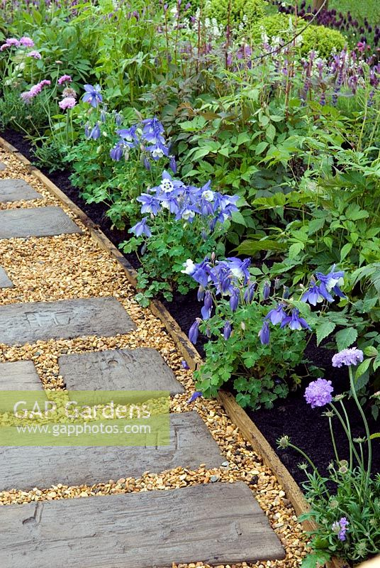 Prepossessing Gap Gardens  Path Of Reused Railway Sleepers And Gravel Alongside  With Exquisite Path Of Reused Railway Sleepers And Gravel Alongside Border Of Aquilegia  And Scabious In The With Captivating Plumbers In Welwyn Garden City Also Water Gardens Direct In Addition Tropic Garden Ibiza And Hanging Gardens Of Babylon Painting As Well As Night Garden Live Additionally North West Gardens From Gapphotoscom With   Exquisite Gap Gardens  Path Of Reused Railway Sleepers And Gravel Alongside  With Captivating Path Of Reused Railway Sleepers And Gravel Alongside Border Of Aquilegia  And Scabious In The And Prepossessing Plumbers In Welwyn Garden City Also Water Gardens Direct In Addition Tropic Garden Ibiza From Gapphotoscom