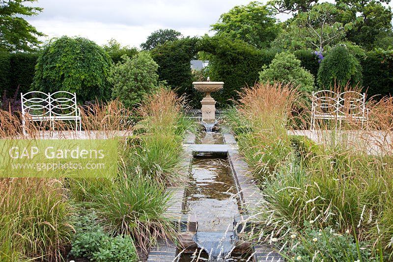Superbe Large Rectangular Garden Ponds Designs