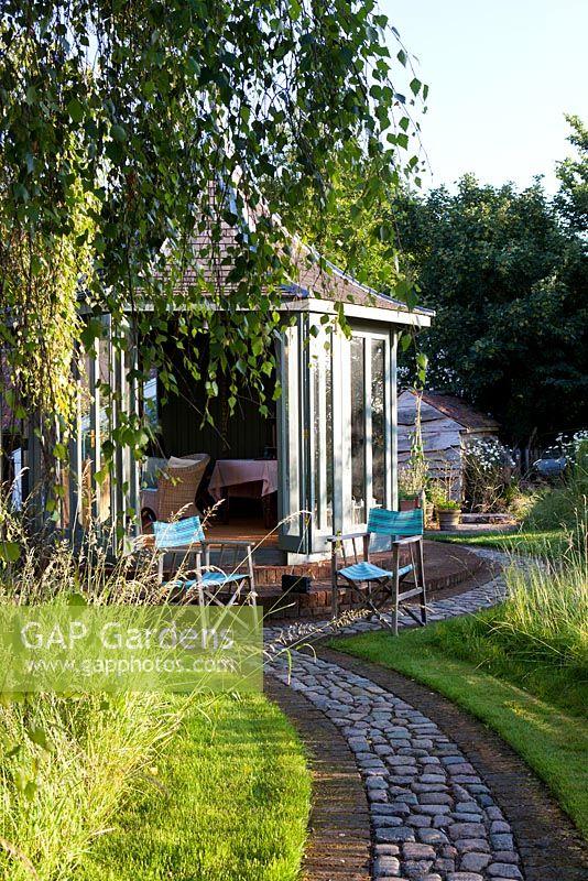 The Corner House, Wiltshire. Summer Garden