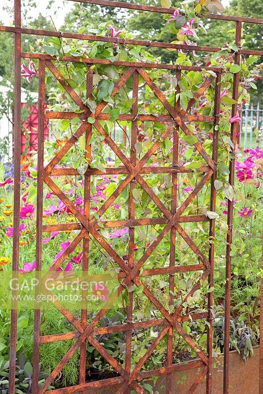 Large Metal Trellis Panels Bing Images
