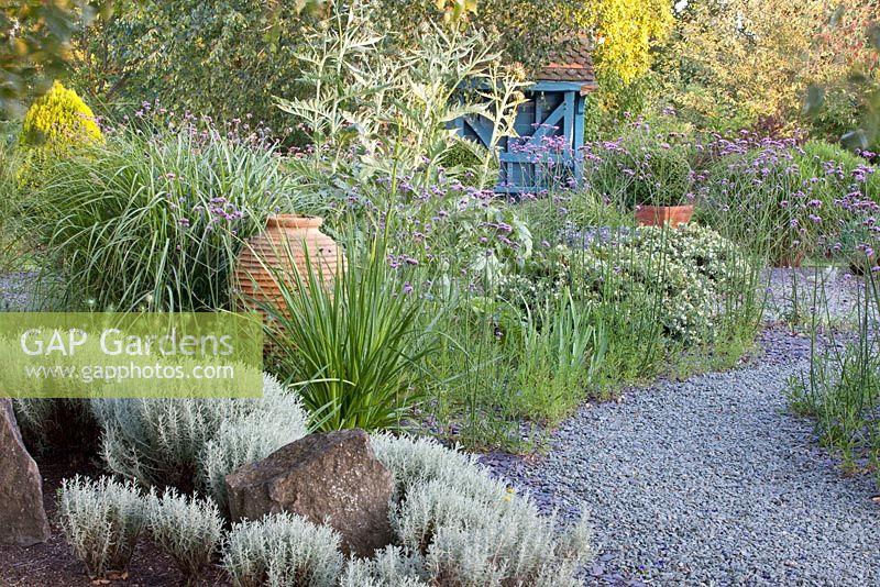 GAP Gardens - Mediterranean garden with gravel path - Image No ...
