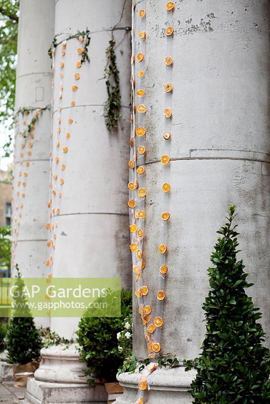 Shoreditch Gardens: Oranges And Lemons Garden At St Leonard's