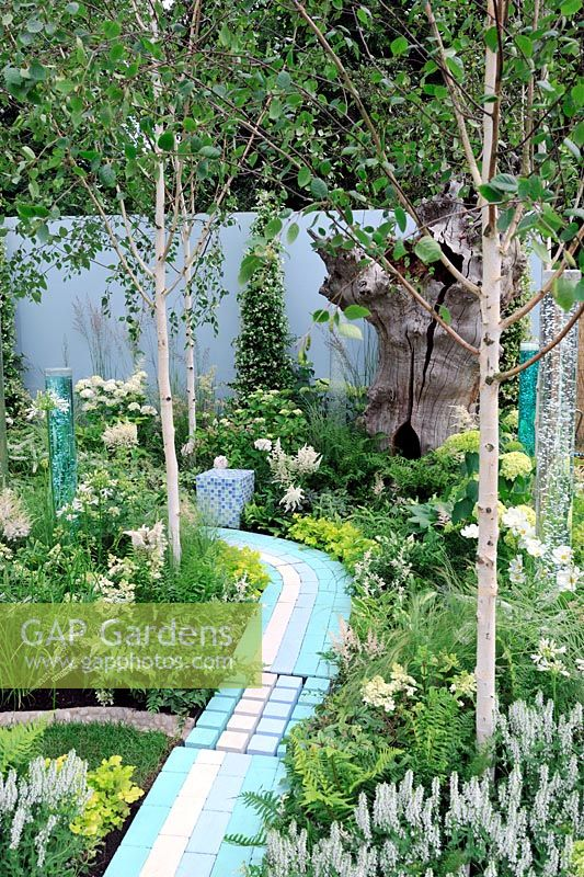 A corner of the world garden, Hampton Court Flower show 2012