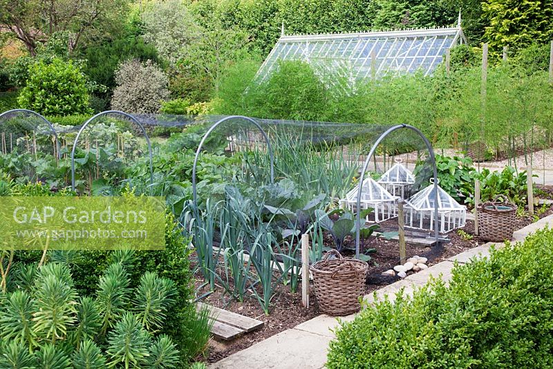 Top 30 victorian vegetable garden designs victorian for Victorian garden designs