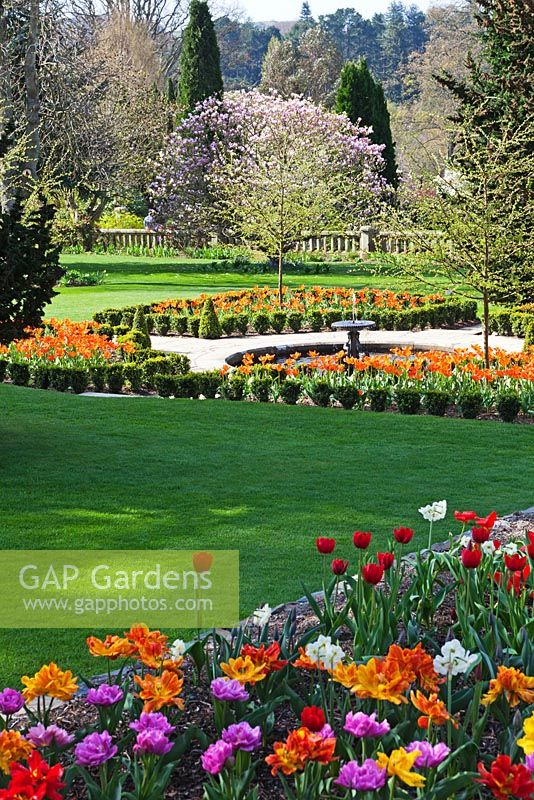 Bodnant Garden, Tal Y Cafn, Colwyn Bay, Clwyd, Wales.