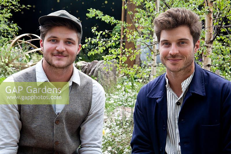 Garden designers, David Rich and Harry Rich - Vital Earth The Night Sky Garden