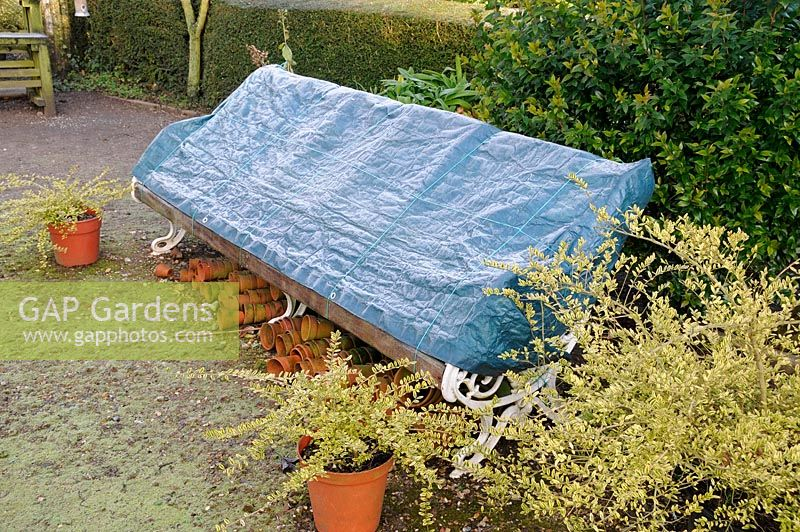The Best 28 Images Of Covered Garden Bench