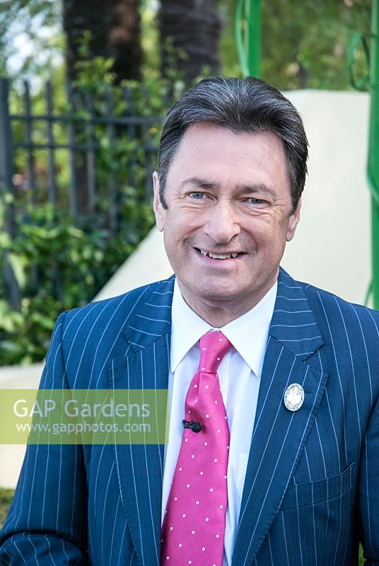 Alan Titchmarsh at RHS Chelsea Flower Show 2008