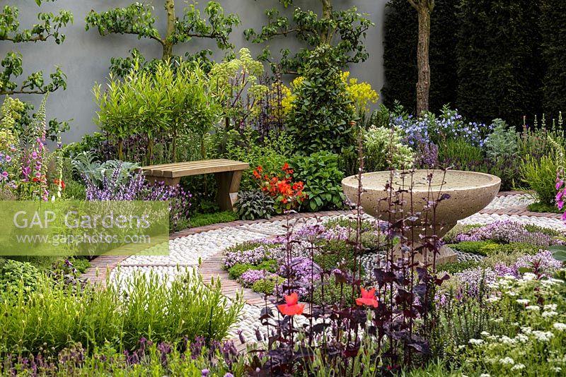 GAP Gardens - A Modern Apothecary, The St John\'s Hospice Garden ...