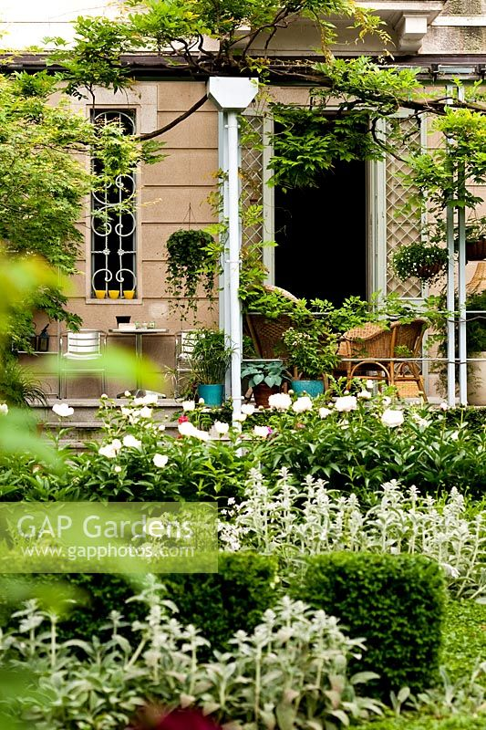 GAP Gardens - A view of the veranda and the garden from the ...