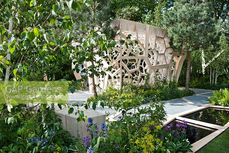 The Times Eureka Garden in association with the Royal Botanic Gardens, Kew designed by Marcus Barnett