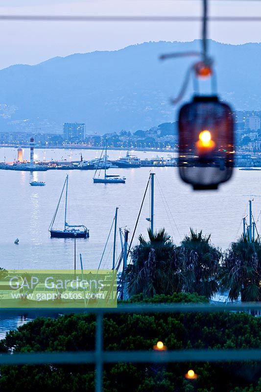 View of the cannes harbour -french riviera, cote d'azur