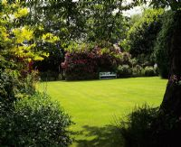 Perfect lawn. Cobblers, Sussex.