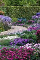 View of Picton Garden, the National collection of Autumn flowering Asters - Michaelmas Daisies