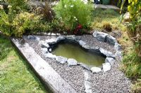 Garden pond project - step by step