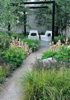 The Naturally Fashionable Garden, Silver Gilt medal winner, RHS Chelsea Flower Show 2010