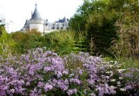 20th International Garden Festival, Chaumont sur Loire, France 2011, with Chateau in background