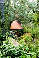 Outdoor oven - Brook Hall Cottages, Essex NGS