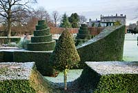 Winter frost, Highgrove Garden and House, December 2007.
