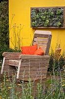 Furniture made from recycled pallets - 'Summer in the Garden' - Silver medal winner - RHS Hampton Court Flower Show 2012