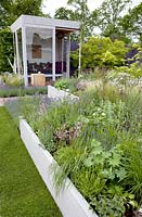 Showgarden at BLOOM 2012 Dublin. Super Garden 'Cookie and Creams Reclaimed Sanctuary'.