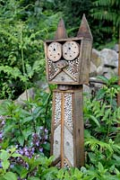 Animal shaped insect hotel