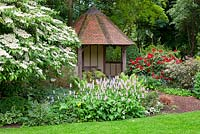 Traditional timber framed summer house