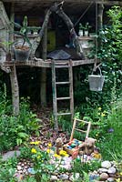 NSPCC Garden of Magical Childhood - tree house and play area