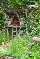 The NSPCC Garden of Magical Childhood - tree house for children