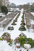 Highgrove in snow, January 2013