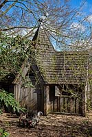 The Gothic Chicken House,  Highgrove, April 2013