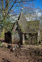 The Gothic Chicken House, Highgrove April 2013