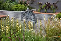 Heightened Senses, BBC Gardener's World Live 2014, showing that savouring a garden involves heightening our senses and becoming aware of the metamorphosis of everything within the space we inhabit