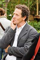 Monty Don at Chelsea. Chelsea Flower Show 2006
