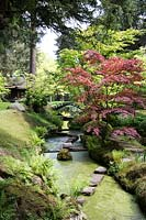 The Japanese garden, Tatton park, Cheshire