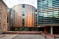 The New Herbarium and Library Wing at the Royal Botanic Gardens Kew. Design by Edward Cullinan Architects