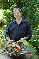 Portrait of florist: Wolfgang Berger