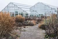 The Glasshouse. RHS Garden Wisley, Surrey, UK.