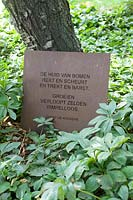 Poem by Geert de Kockere in Dutch, Netherlands
