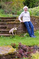 Jill Hunter, creator of garden at The Old Corn Mill, Ross-on-Wye